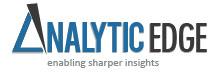 Analytic Edge - Enabling Sharper Insights