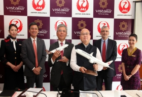 Japan Airlines and Vistara sign Memorandum of Understanding