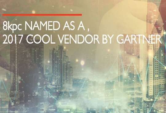 8kpc Named a 'Cool Vendor' by Gartner