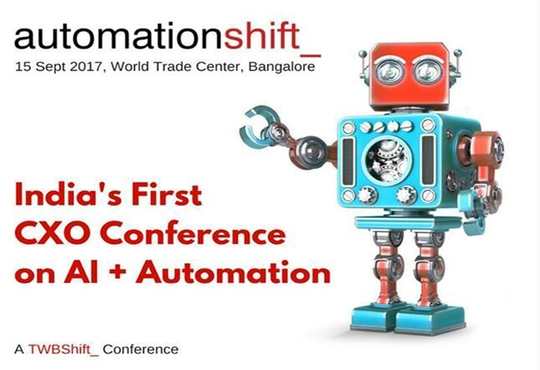 TWB_ announces automationshift_, India's first CXO conference on automation and Artificial Intelligence