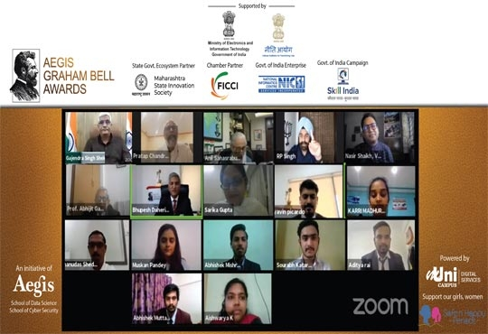 Winners and finalists for the 11th edition of Aegis Graham Bell Awards (virtual) declared