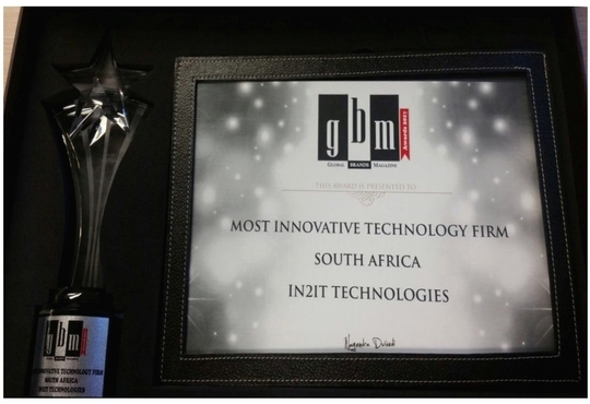 In2IT Technologies Recognized as Most Innovative Technology Firm at Global Brands Awards