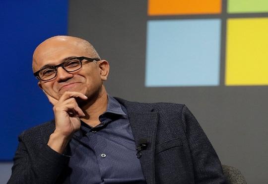 Microsoft names CEO Satya Nadella as its Chairman