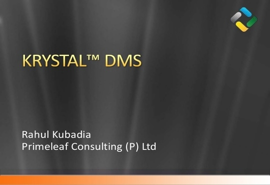 Primeleaf Consulting announces Version 2017 for KRYSTAL Document Management System