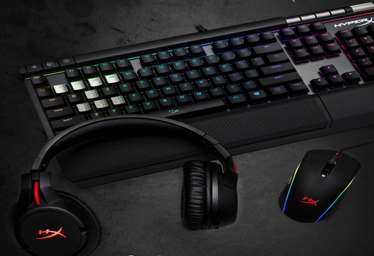 CES 2018: HyperX Reveals First Wireless Headset and New Suite of RGB Gaming Gear