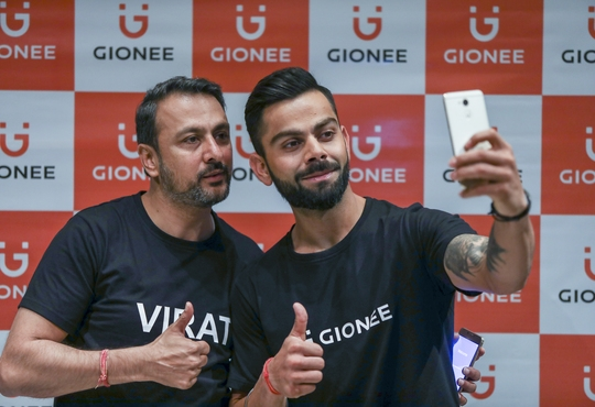 Gionee clocks 1.20 cr. customers in India and to celebrate signs on Virat Kohli as the brand ambassador to amplify brand presence
