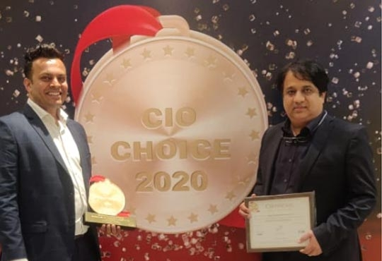 Netapp India Recognized As The Leader In Enterprise Flash Storage For The Second Consecutive Year By The Coveted CIO CHOICE 2020