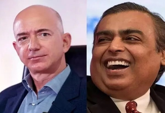 Amazon or Reliance? A Battle for India's Retail Crown
