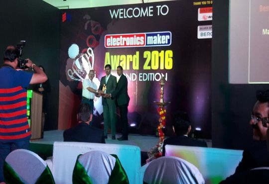 Matrix Awarded as Best Intelligent Security Solutions Provider by Electronics Maker