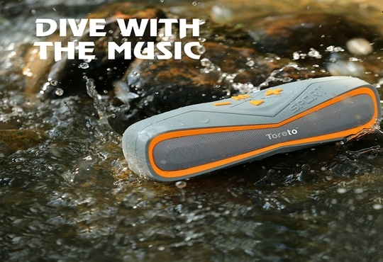 Toreto launches 'Aqua' - Waterproof Bluetooth Speaker TBS 325