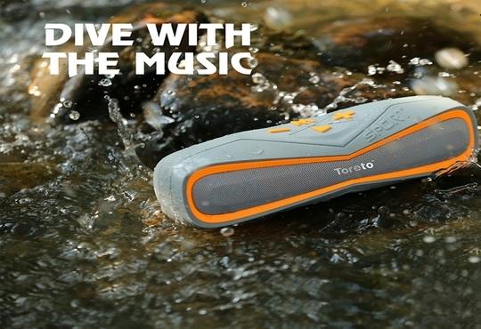Toreto launches 'Aqua' - Waterproof Bluetooth Speaker TBS 325