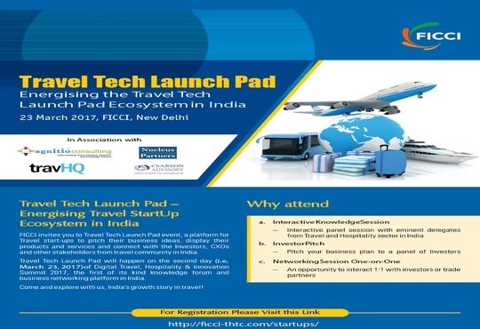 FICCI Launches India's Travel Startup Launchpads