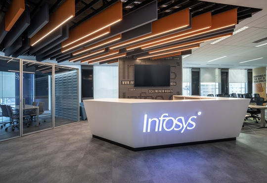 Infosys partners with RXR Realty to develop a smart office platform