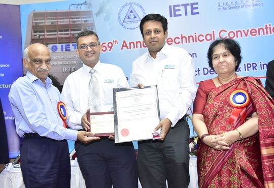Matrix Bagged the IETE - Corporate Award for Performance Excellence in Computer and Tele - Communication Systems