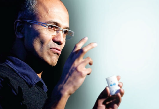 Satya Nadella on Aadhaar, India Stack and the Revolutionary Potential of AI