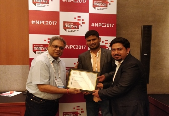 racetrack.ai ranked amongst 'Top 50 Emerging IT Companies' in India at 'NASSCOM EMERGE 50 Awards'