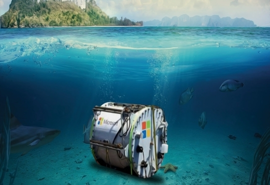 Microsoft's Underwater Datacenter is Retrieved after Two Years