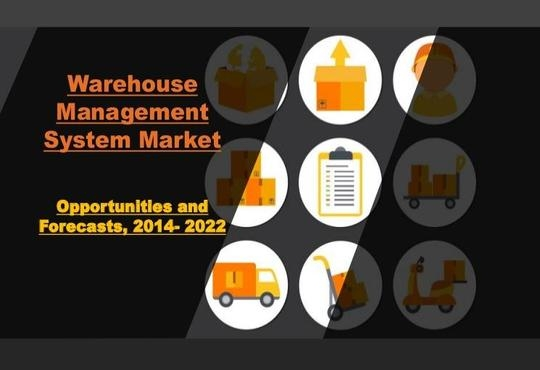 Warehouse Management System Market to Garner $3,112 Million, Globally by 2022