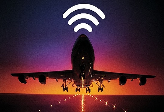 In-flight Internet tariff may be added with flight tickets