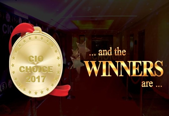 Vertiv Wins CIO Choice 2017 Honorand Recognition Awards