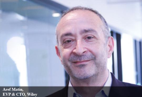 Aref Matin, EVP & CTO, Wiley