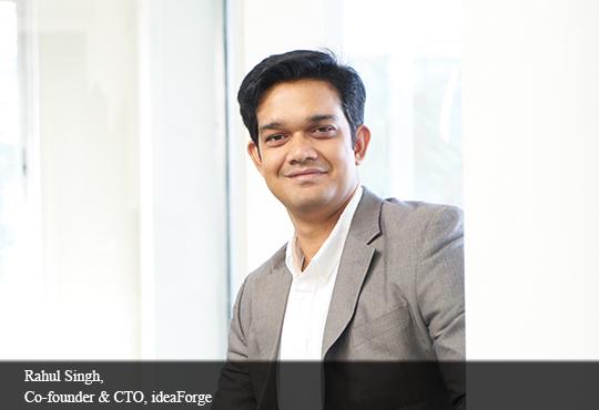 Rahul Singh, Co-Founder & CTO, Ideaforge