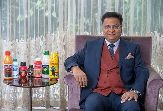 Rajesh Aggarwal, Managing Director, Insecticides (India) Ltd.