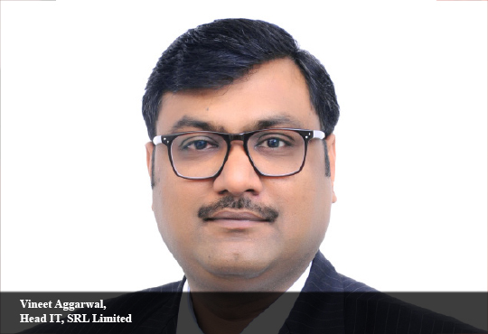 Vineet Aggarwal, Head IT, SRL Limited