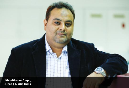Mehdihasan Naqvi, Head IT, Otis India
