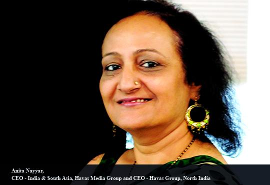 Anita Nayyar, CEO - India & South Asia, Havas Media Group and CEO - Havas Group, North India