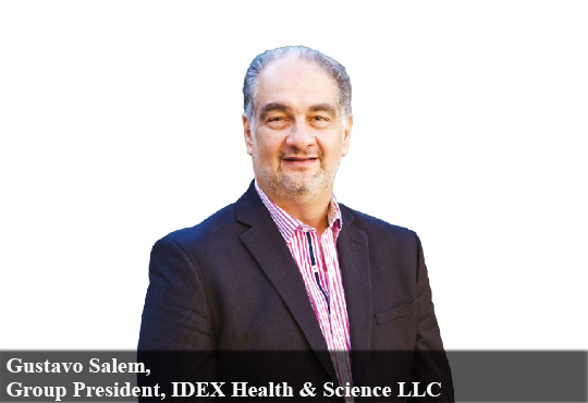 Gustavo Salem, Group President, IDEX Health & Science LLC