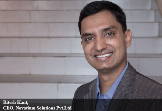 Ritesh Kant, CEO, Novatium Solutions Pvt.Ltd