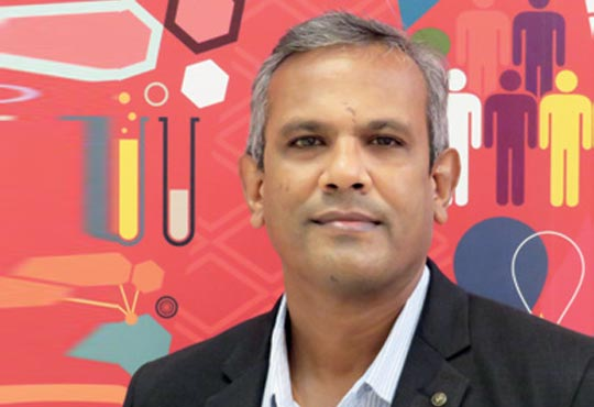 Joseph Kiran Kumar, Associate VP & Head IT, Eisai Pharmaceuticals India