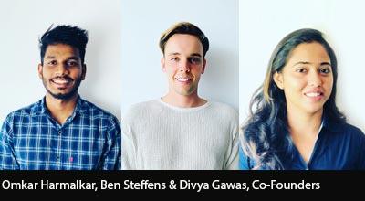 Omkar Harmalkar, Divya Gawas & Ben Steffens,Co-Founders