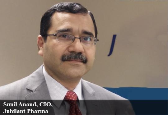 Sunil Anand, CIO, Jubilant Pharma