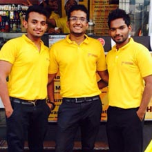 Neelesh R, Aashish T Malayil,  Aayush T Malayil and Goutham Jayprakash,Founders