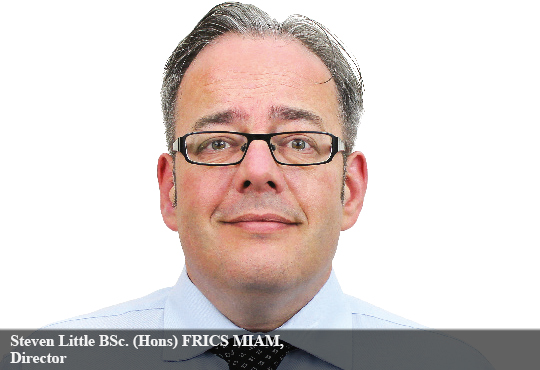 Steven Little BSc. (Hons) FRICS MIAM, Director – Surveying and Asset Management, WYG Group