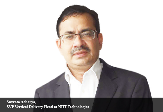 Suvrata Acharya, SVP Vertical Delivery Head at NIIT Technologies