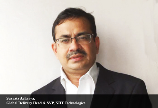 Suvrata Acharya, Global Delivery Head & SVP, NIIT Technologies