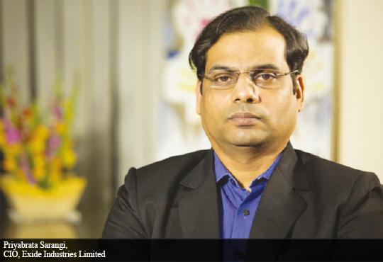 Priyabrata Sarangi, CIO, Exide Industries Limited