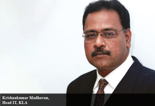 Krishnakumar Madhavan, Head IT, KLA