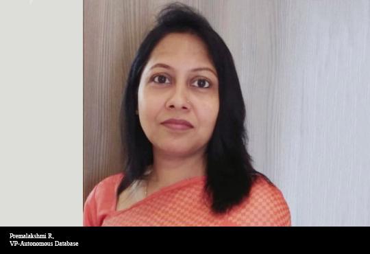 Premalakshmi R, VP-Autonomous Database, Oracle India
