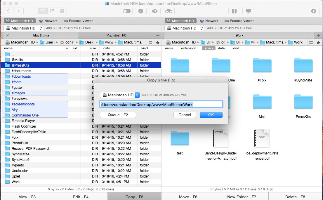 Commander One: Dual-pane File Manager for macOS
