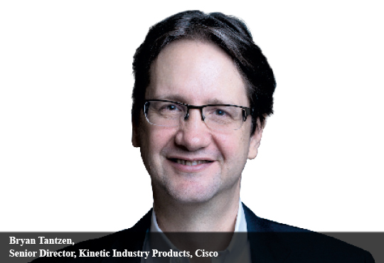 Bryan Tantzen, Senior Director, Kinetic Industry Products, Cisco