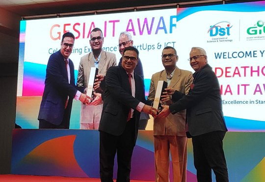 Matrix ComsecRecognized as The Best Electronics Company at GESIA Annual Awards 2019