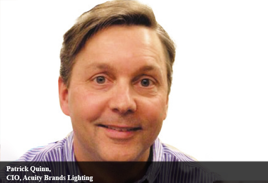 Patrick Quinn, CIO, Acuity Brands Lighting