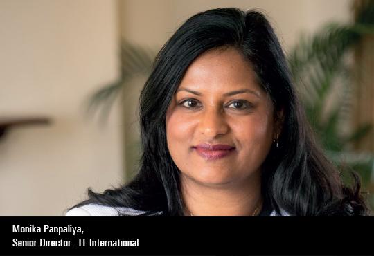 Monika Panpaliya, Senior Director - It International, Boeing