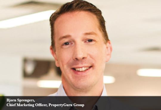 Bjorn Sprengers, Chief Marketing Officer, PropertyGuru Group