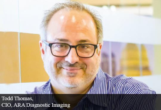Todd Thomas, CIO, ARA Diagnostic Imaging