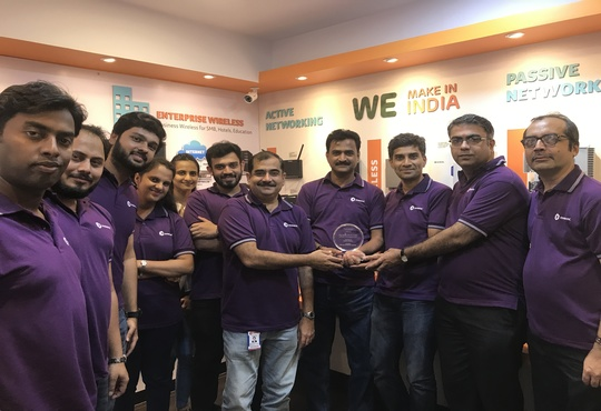 """DIGISOL bags """"Best Make In India Wi-Fi Company"""" Award at My India Wi-Fi Summit & Awards"""
